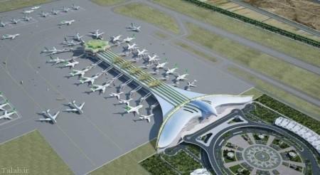 فرودگاه بین الملی عشقآباد