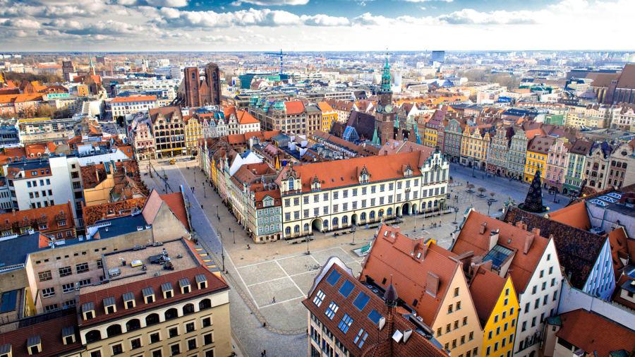 ارسال بارهوایی به لهستان