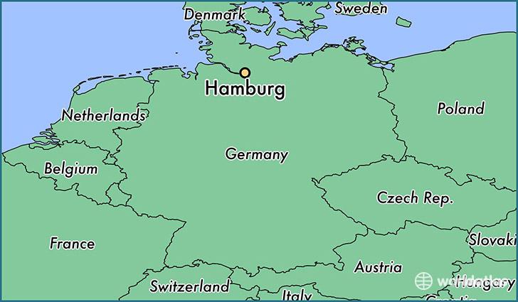ارسال بار هوایی به هامبورگ