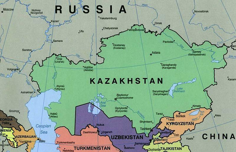 ارسال بارهوایی به قزاقستان