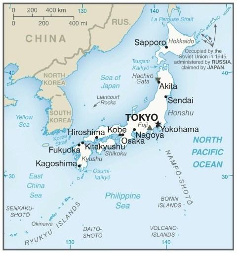 ارسال بارهوایی به ژاپن