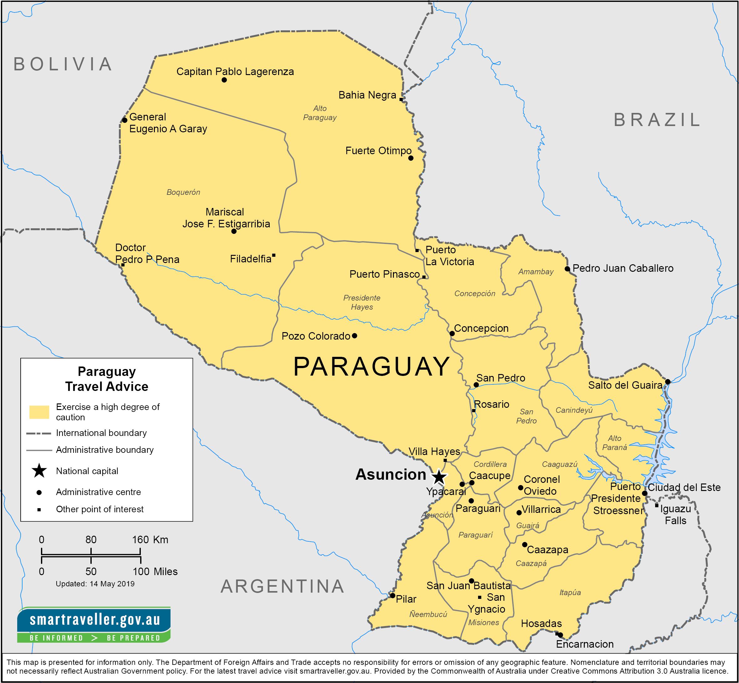 ارسال بارهوایی به پاراگوئه