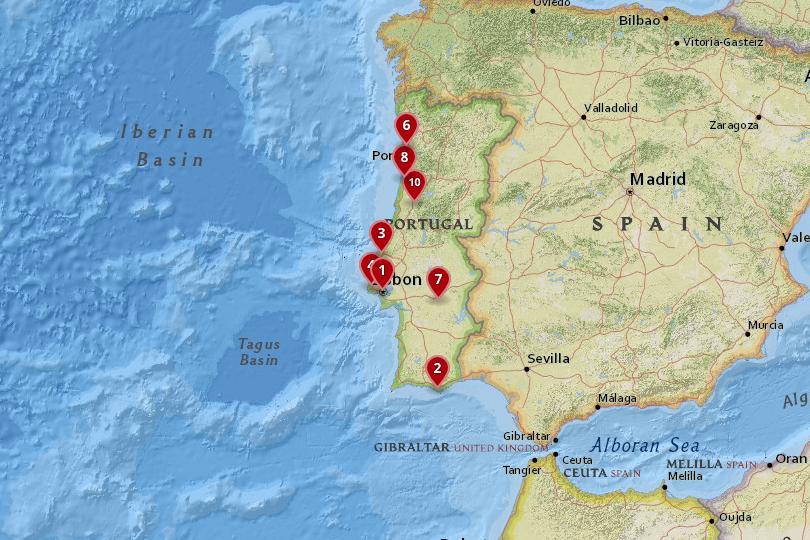 ارسال بارهوایی به پرتغال