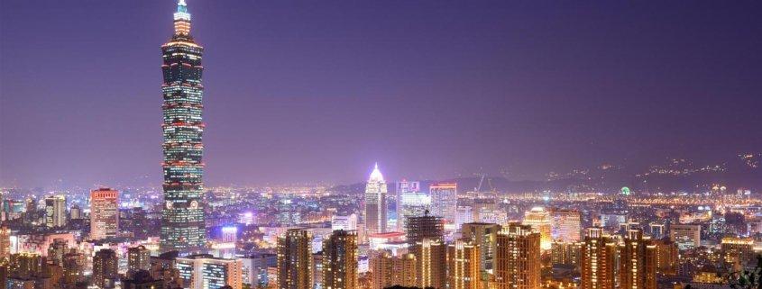 ارسال بارهوایی به تایوان