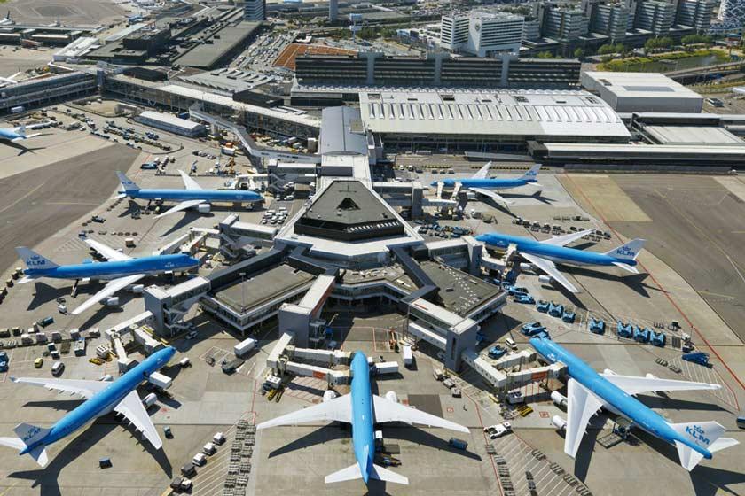 فرودگاه شیپخول آمستردام
