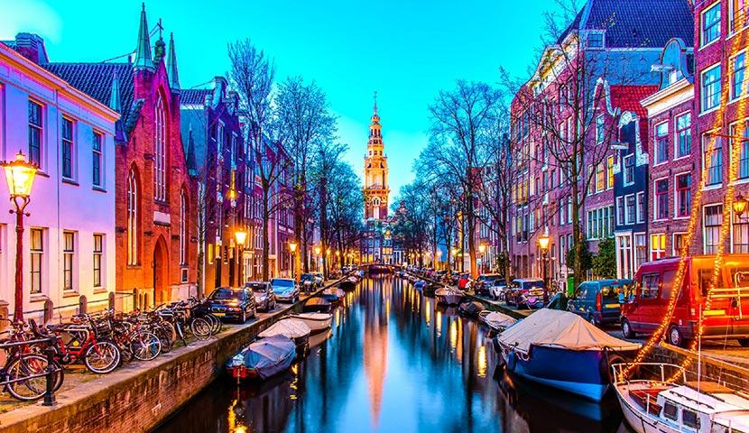 ارسال هوایی به آمستردام