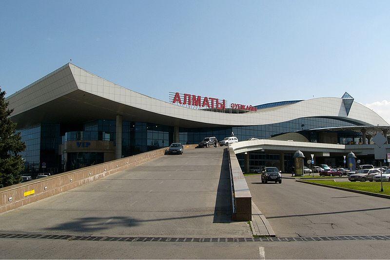 فرودگاه بین المللی آلماتی